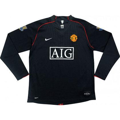 Manchester United 2007/08 Long Sleeve Away Kit