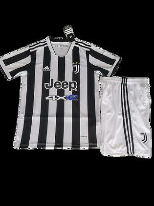 Juventus Home Kids Kit 2021/22