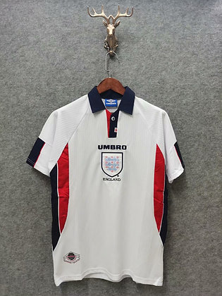 England 1998 Retro Home Kit
