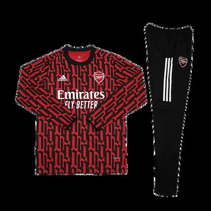 Arsenal Adidas Pre Match Training Suit 2020/21