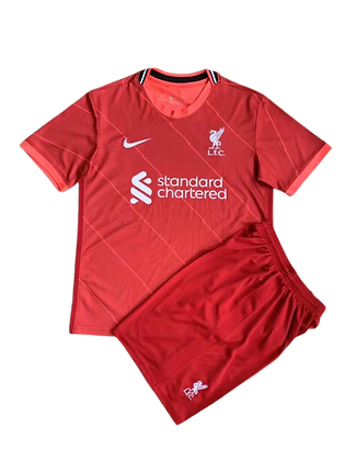 Liverpool Nike Home Kids Kit 2021/22