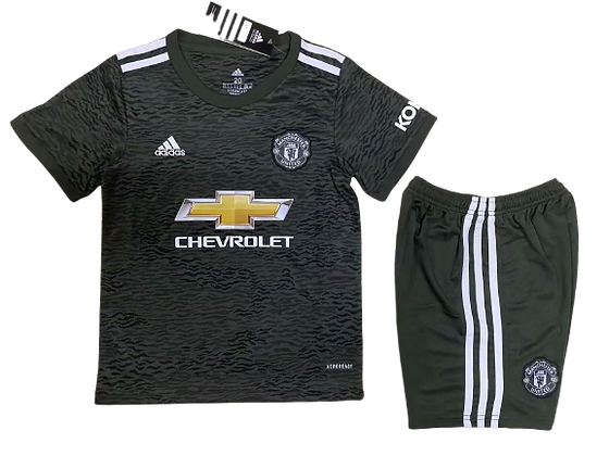 Manchester United Away Kids Kit 2020/21