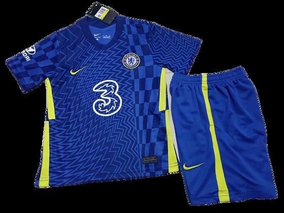 Chelsea Home Kids Kit 2021/22