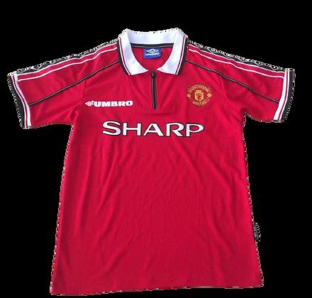 Manchester United Retro Premier League Home Shirt 1998/00