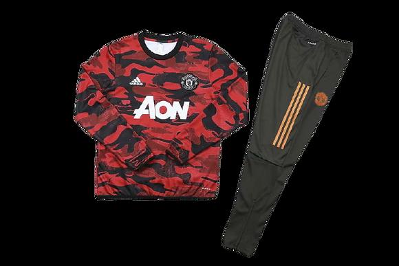 Manchester United Kids Training Tracksuit 2020/21