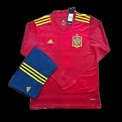 Spain Adidas Long Sleeve Kit 2020/21