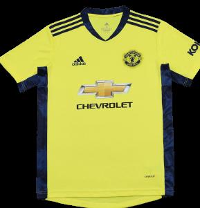 Manchester United Adidas Goalkeeper Home Shirt 2020/21