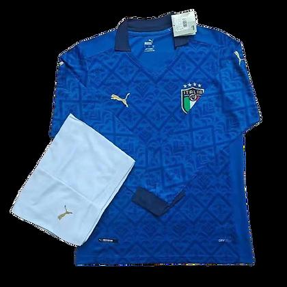 Italy Puma Home Long Sleeve Kit 2020/21