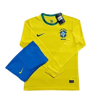 Brazil Nike Home Long Sleeve Kit 2020/21