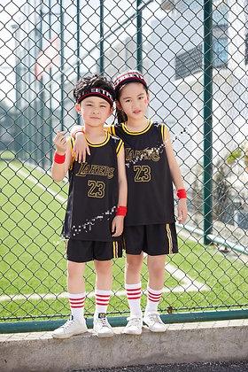 LA Lakers Black NBA Kids Jersey