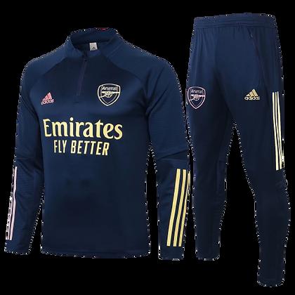 Arsenal Adidas Blue Training Suit 2020/21