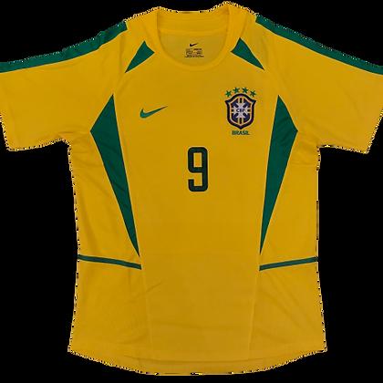 Brazil 2002 World Cup Retro Kit