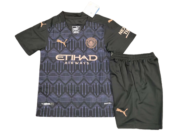 Manchester City Kids Third Kit 2020/21