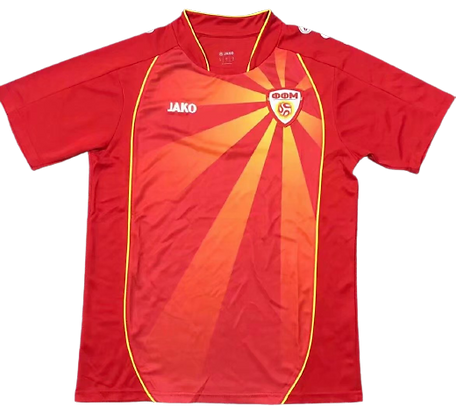 North Macedonia Euro 2020 Home Kit