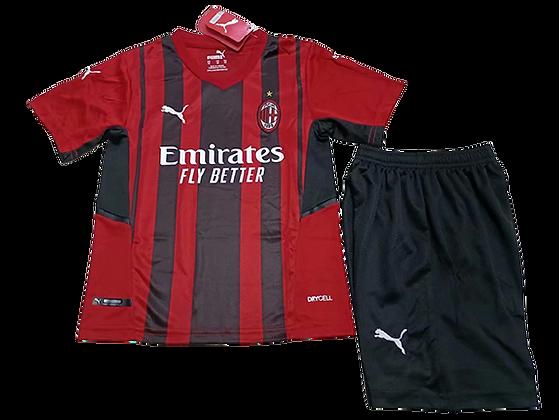 AC Milan Home Kids Kit 2021/22