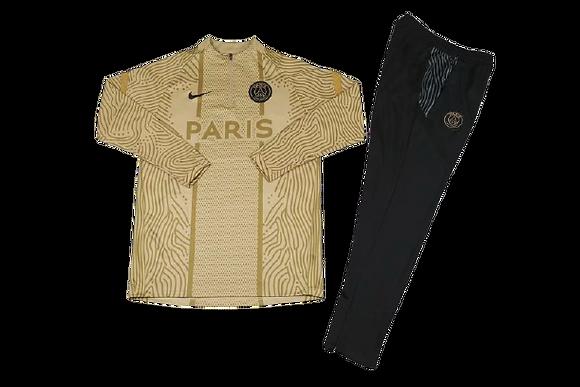 PSG Nike Gold Tracksuit 2020/21