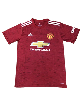 Manchester United Adidas Home Shirt 2020/21