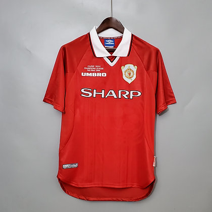Manchester United Champions League Final Shirt 1999