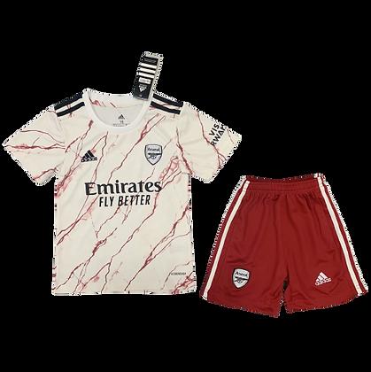 Arsenal Away Kids Kit 2020/21