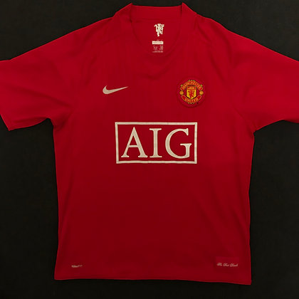 Manchester United 2007/08 Home Kit