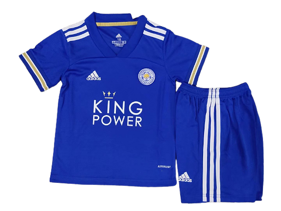Leicester City Home Kids Kit 2020/21