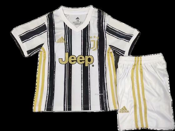Juventus Home Kids Kit 2020/21