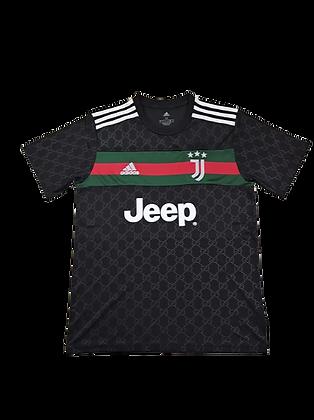 Juventus Gucci Black Concept Shirt