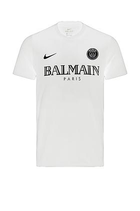 PSG Nike x Balmain White Shirt