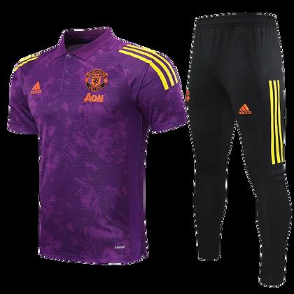 Manchester United Adidas Tracksuit 2020/21