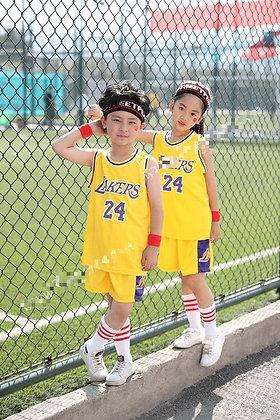 LA Lakers Yellow NBA Kids Jersey