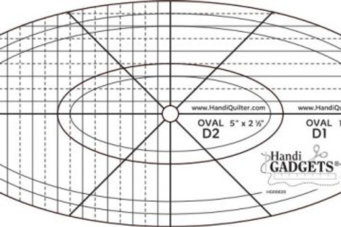 HQ Oval D Templates