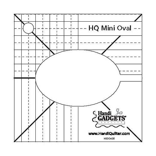 Ruler – Mini Oval