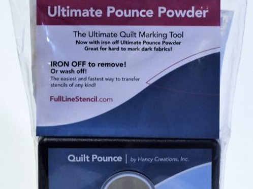 QUILT POUNCE PAD - WHITE ULTIMATE IRON OFF!