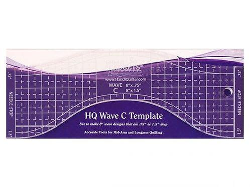 Ruler Wave C 8″