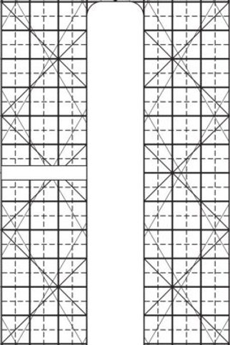 Ruler – 6 x 1/2 Line Grid