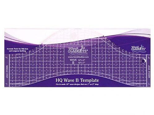 Ruler Wave B 10″