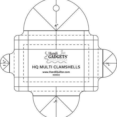 Ruler-HQ Multi Clamshell
