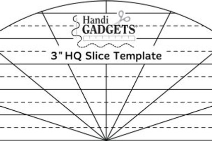 3-inch Slice Template