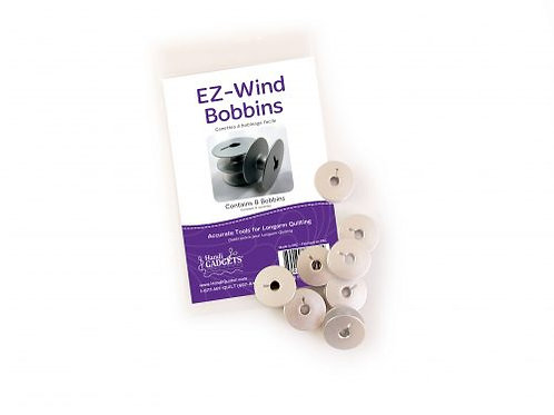 EZ-Wind Slotted M-Class Bobbins (Package of 8)