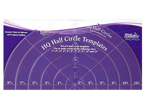 Ruler Half Circle Handi Size