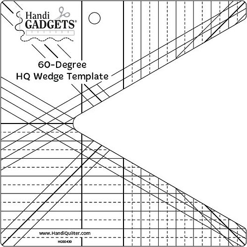60-Degree Wedge Template