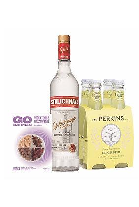 Promo #26: Vodka Stoli, Mr. Perkins, Botánicos
