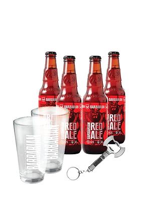 Promo #4: Cerveza Barbarian, Vasos y destapador Barbarian