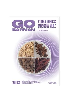 Go Barman Botánico Vodka Tonic & Moscow Mule