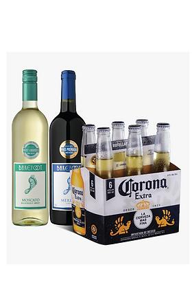 Promo #6: Corona Extra, Vino Barefoot