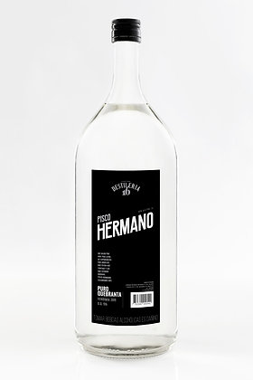 Pisco Hermano Puro Quebranta 2lt