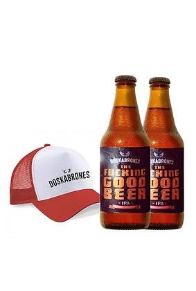 Promo #7: Cerveza Doskabrones, gorra Doskabrones