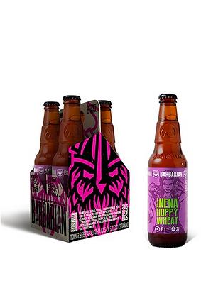 Cerveza Barbarian La Nena Hoppy Wheat