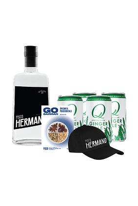 Promo #22: Pisco Hermano, Q Mixers, Gorra Hermano