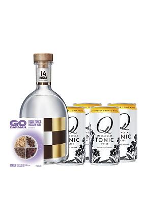 Promo #27: Vodka 14 Inkas, Q mixers, Botánicos